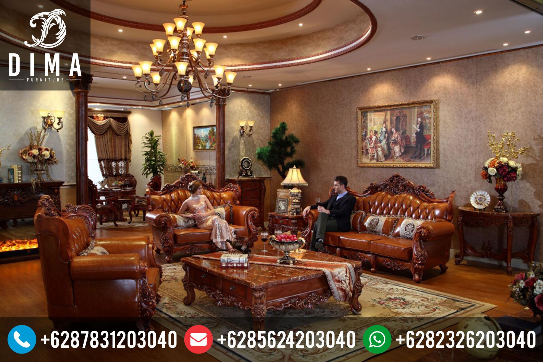 Furniture Jepara Set Kursi Sofa Tamu Mewah Jati Murah ST-0039