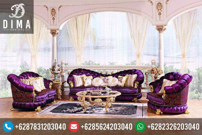 Kursi Sofa Tamu Mewah Klasik Terbaru STJ-0001