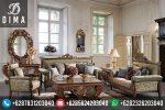 Mebel Jepara Murah Set Kursi Sofa Tamu Klasik Mewah Terbaru ST-0025