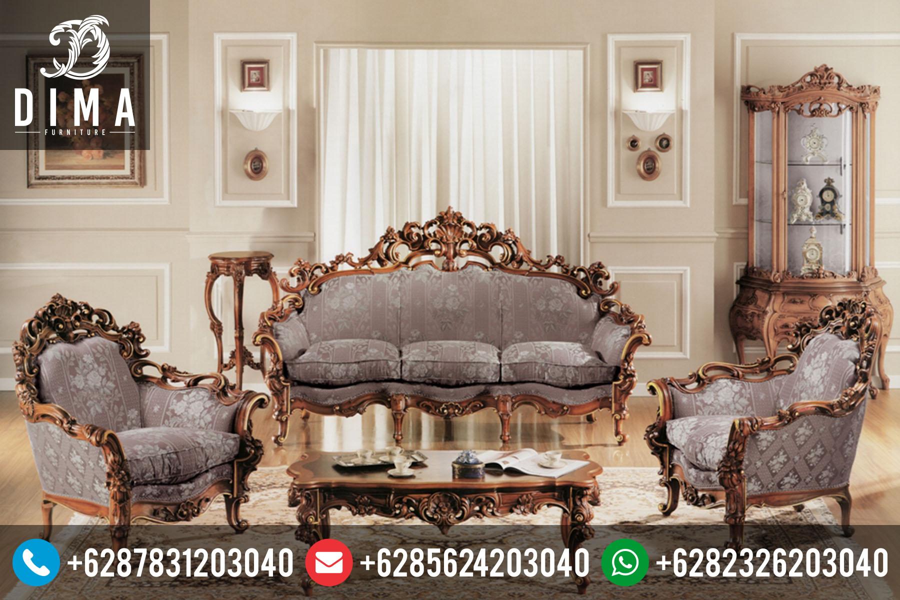 Mebel Jepara Murah Set Kursi Sofa Tamu Klasik Mewah Terbaru ST-0037