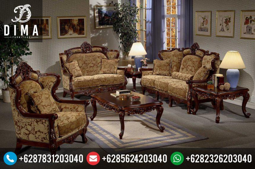 Mebel Jepara Set Kursi Sofa Tamu Klasik Mewah Terbaru Murah ST-0046