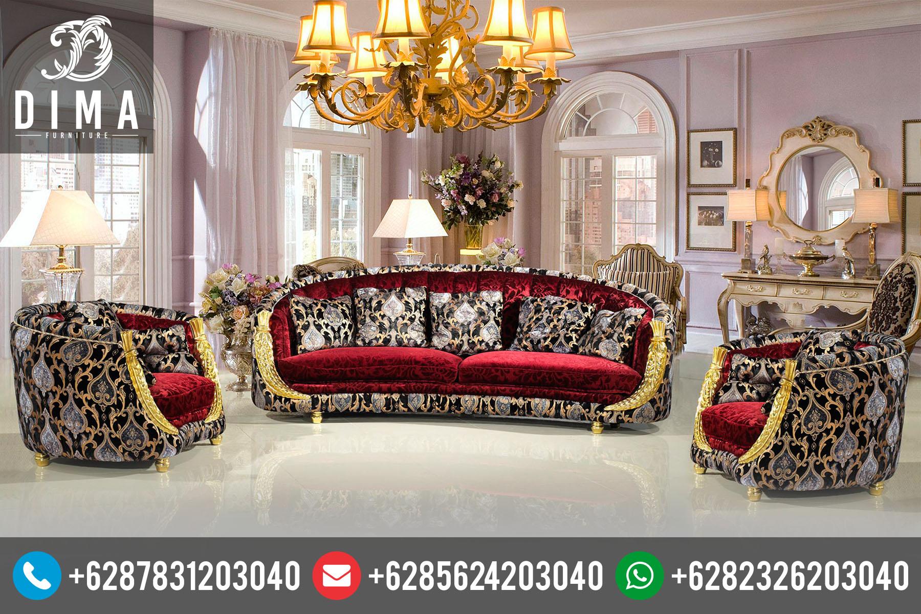 Mebel Jepara Set Kursi Sofa Tamu Klasik Mewah Terbaru ST-0016