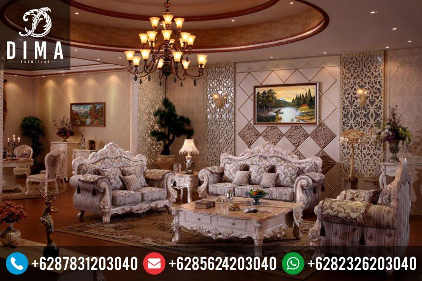 Mebel Jepara Set Kursi Sofa Tamu Mewah Klasik Murah ST-0040