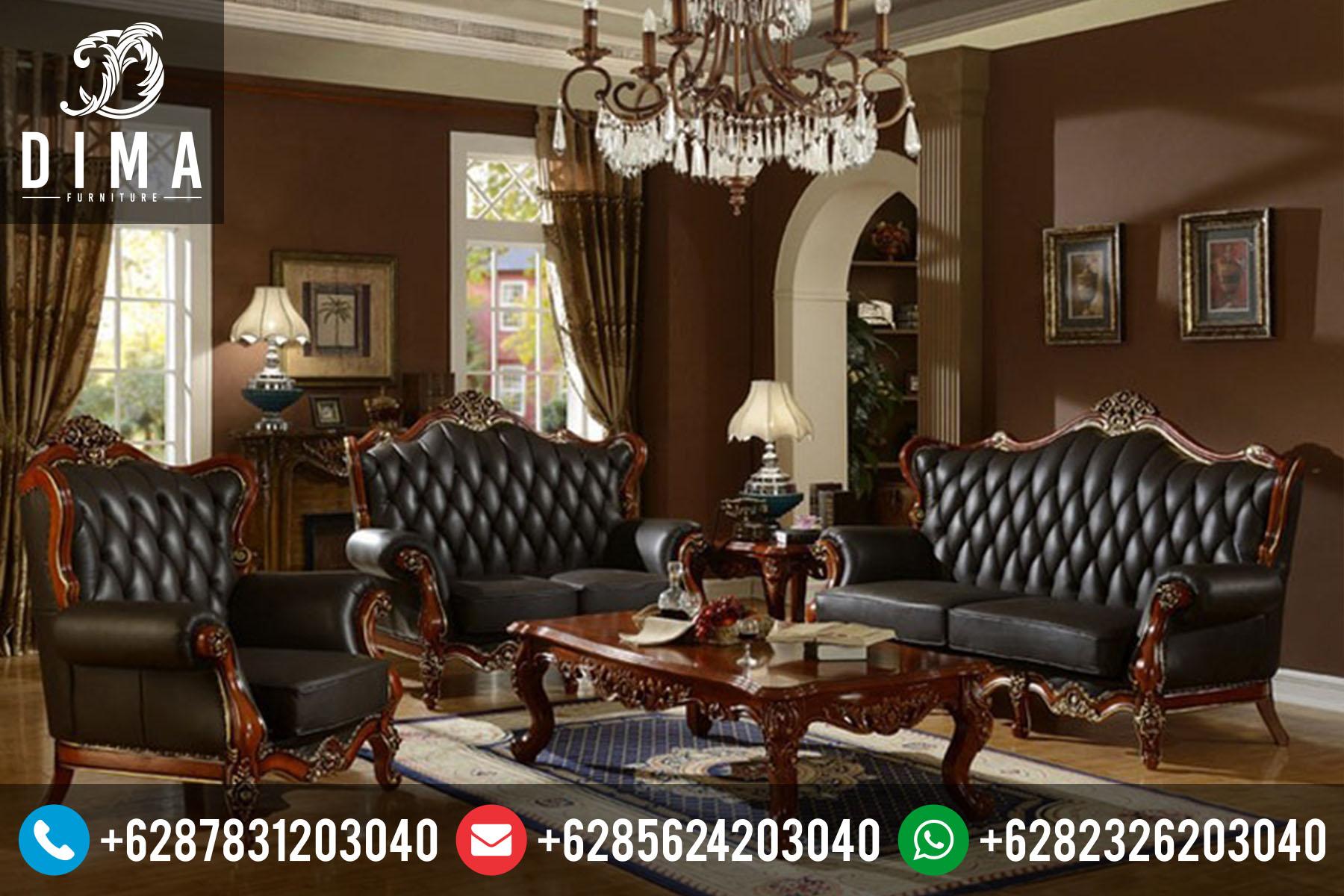Mebel Jepara Set Sofa Kursi Tamu Klasik Mewah Terbaru Murah ST-0044