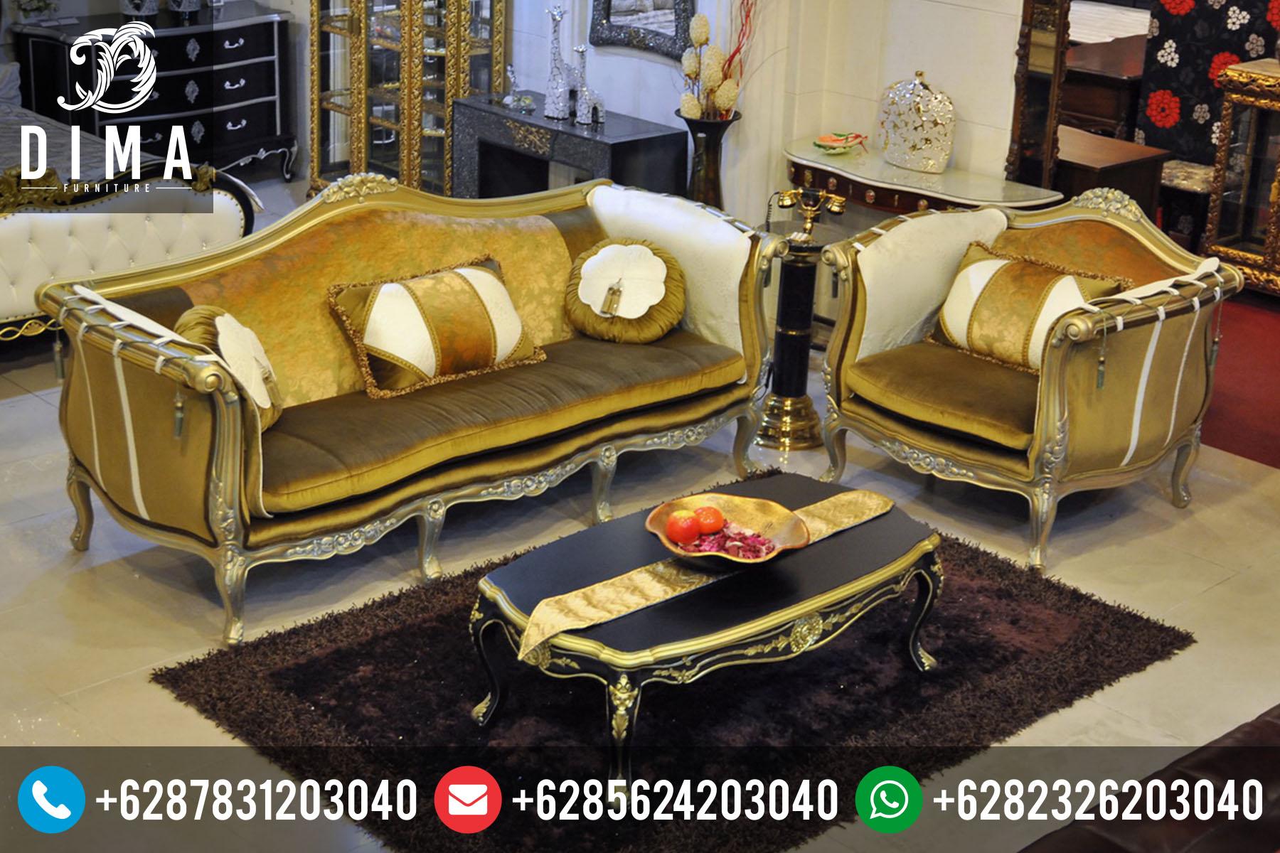 Mebel Jepara Set Sofa Kursi Tamu Mewah Terbaru Murah ST-0052