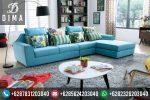 Mebel Jepara Set Sofa Tamu Sudut L Minimalis Terbaru Murah ST-0043
