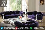 Set Kursi Sofa Tamu Classic Mewah Duco Ukir Terbaru ST-0013