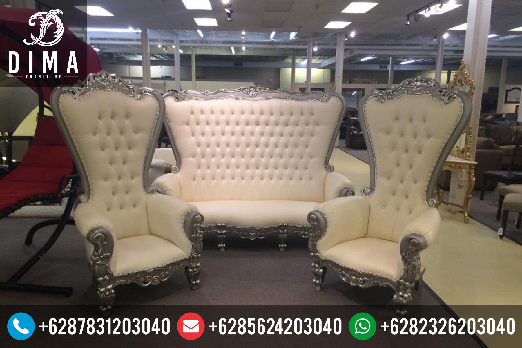 Set Kursi Sofa Tamu Mewah Duco Terbaru Princess STJ-0011