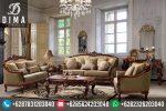 Kursi Sofa Tamu Jati Terbaru Klasik Mewah Finishing Natural ST-0104