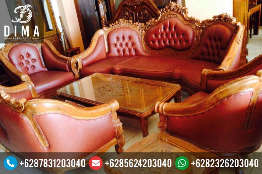 Mebel Jati Jepara Set Kursi Sofa Tamu Jati Ganesa Murah Terbaru ST-0067