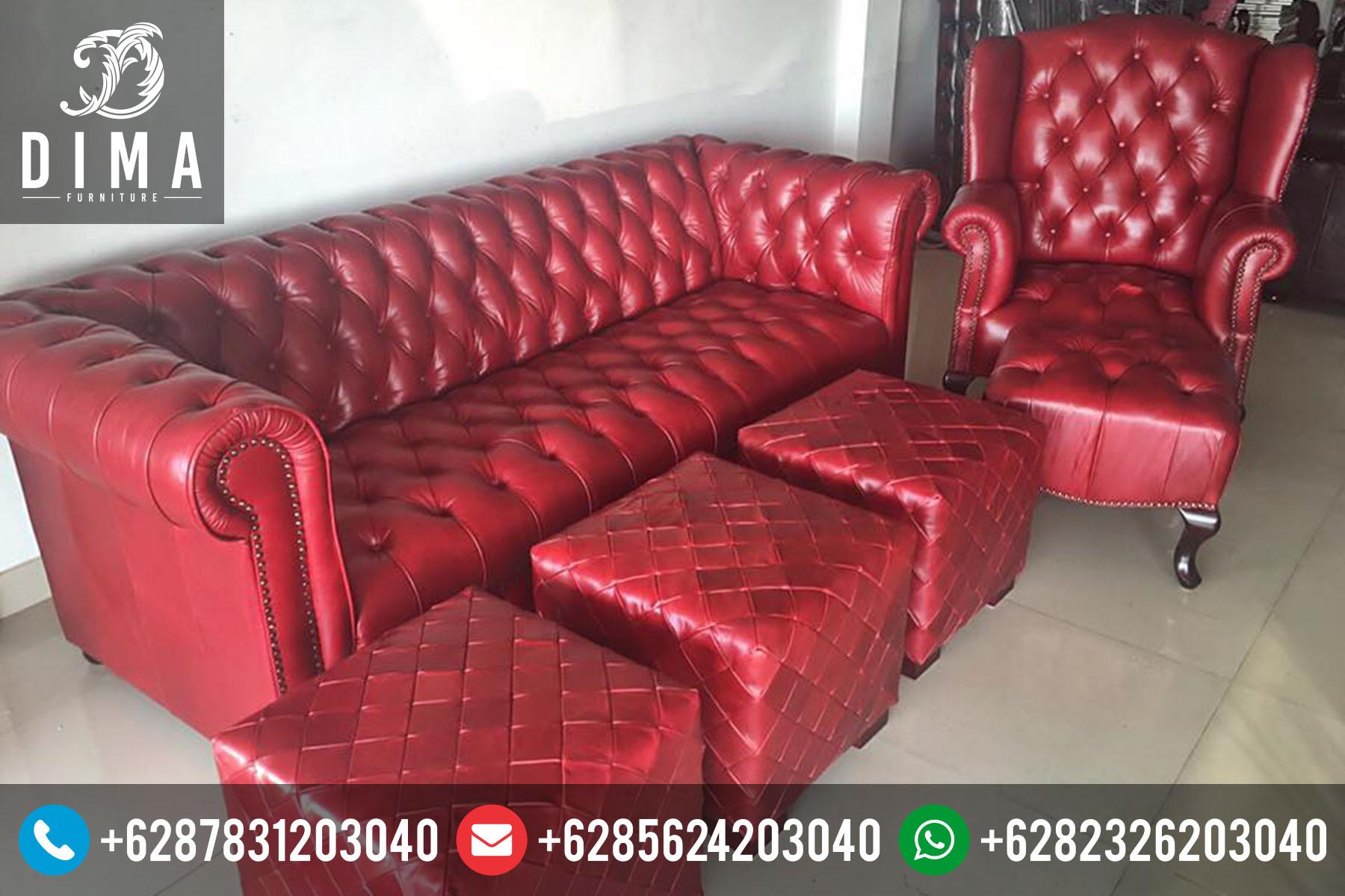 Mebel Murah Jepara Set Kursi Sofa Tamu Sofa Bed Minimalis Terbaru Murah ST-0060