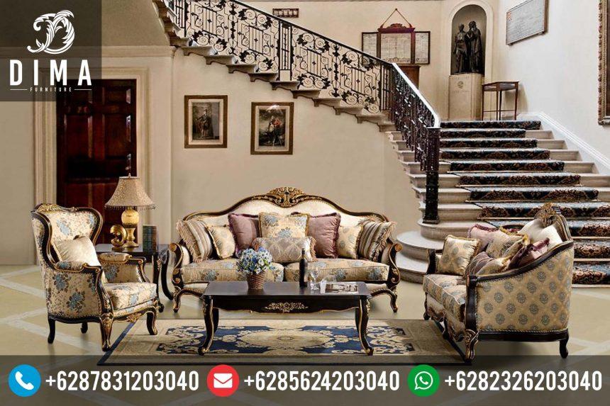 Ruang Tamu Set Furniture Kursi Sofa Mewah Terbaru Murah ST-0105