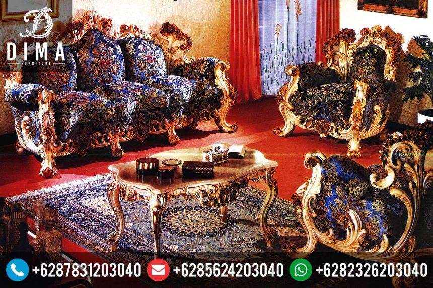 Set Kursi Sofa Tamu Mewah Klasik Ukir Jepara Terbaru Murah ST-0064