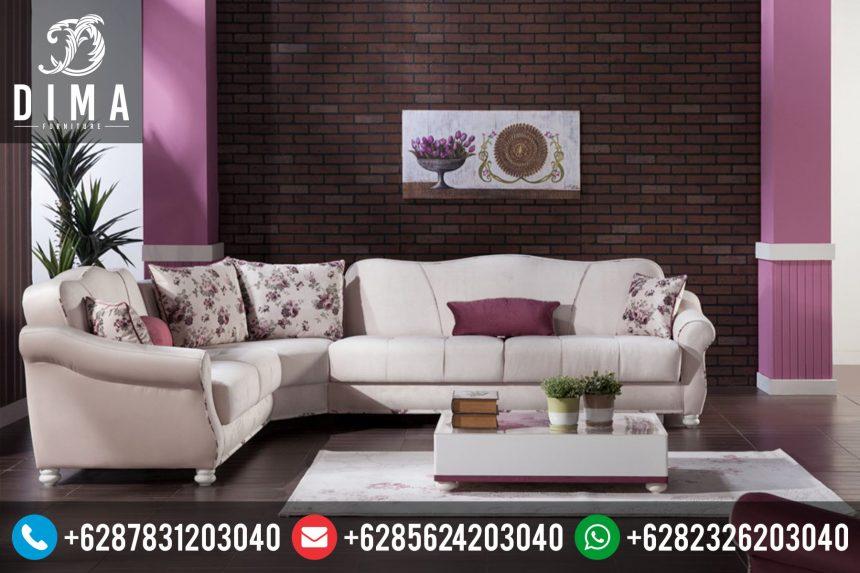 Set Sofa Tamu Minimalis Sudut L Modern Terbaru Murah ST-0062