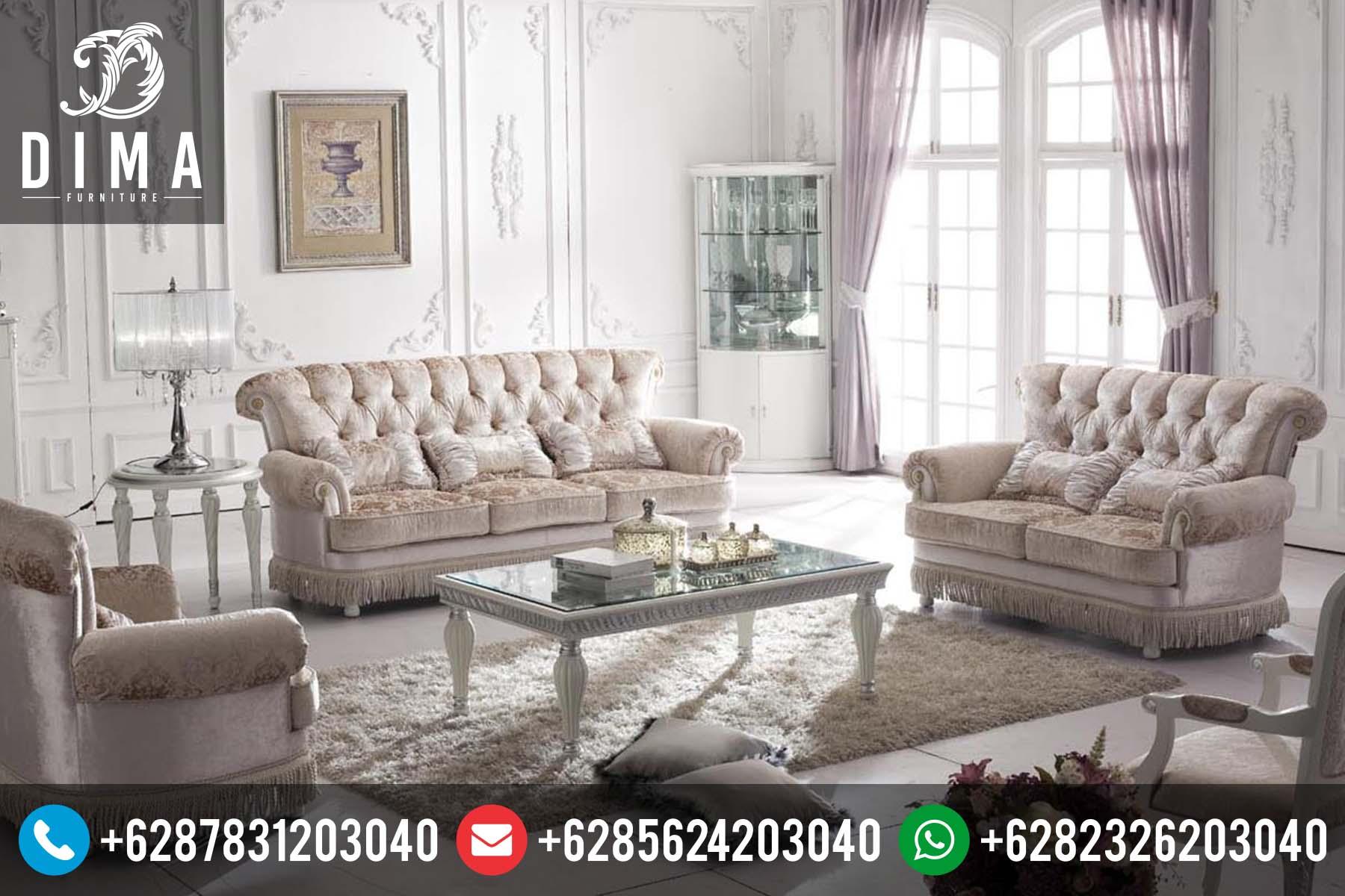 Set sofa tamu terbaru murah mewah klasik modern duco for Sofa klasik