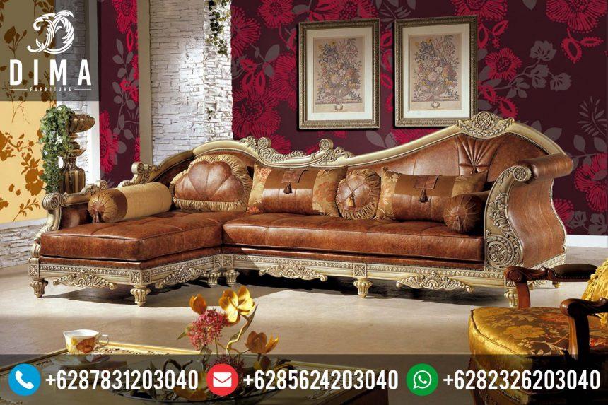 Kursi Sofa Sudut L 2016 Minimalis Klasik Terbaru Mewah Harga Murah ST-0135