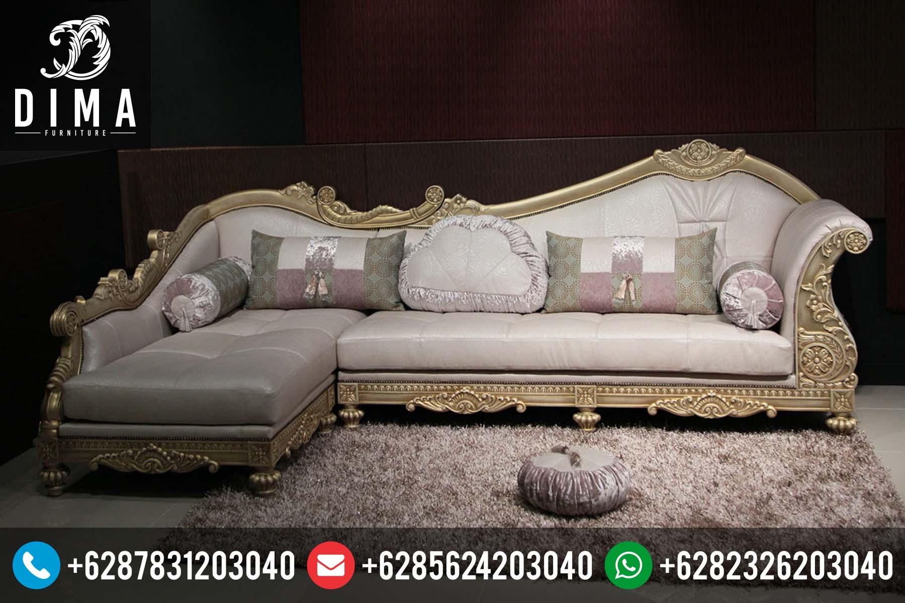 Kursi Sofa Sudut L Klasik Minimalis Mewah Terbaru Harga