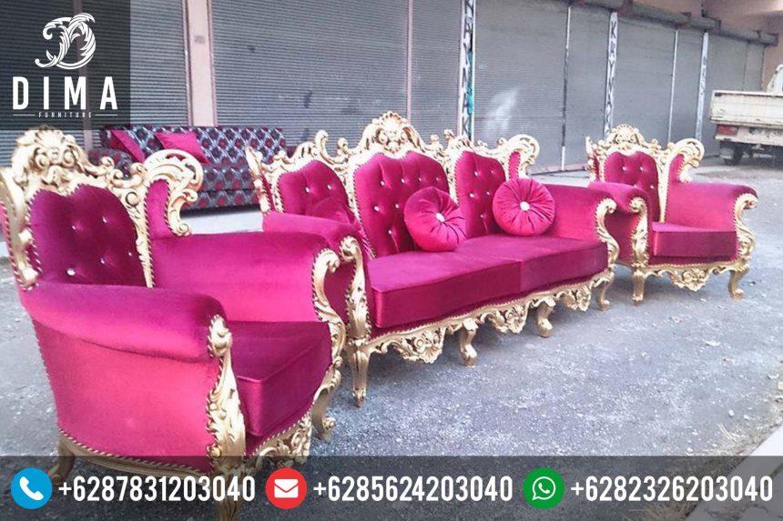Kursi Sofa Tamu Murah Mewah Terbaru Ukiran Jepara Berkualitas ST-0126