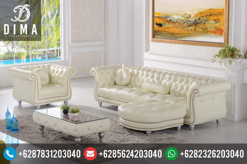 Mebel Jepara Murah Set Kursi Sofa Bed Ruang Tamu Terbaru Mewah ST-0128