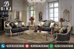 Sofa Tamu Mewah Murah Gaya Klasik Eropa Terbaru Finishing Cat Duco ST-0124