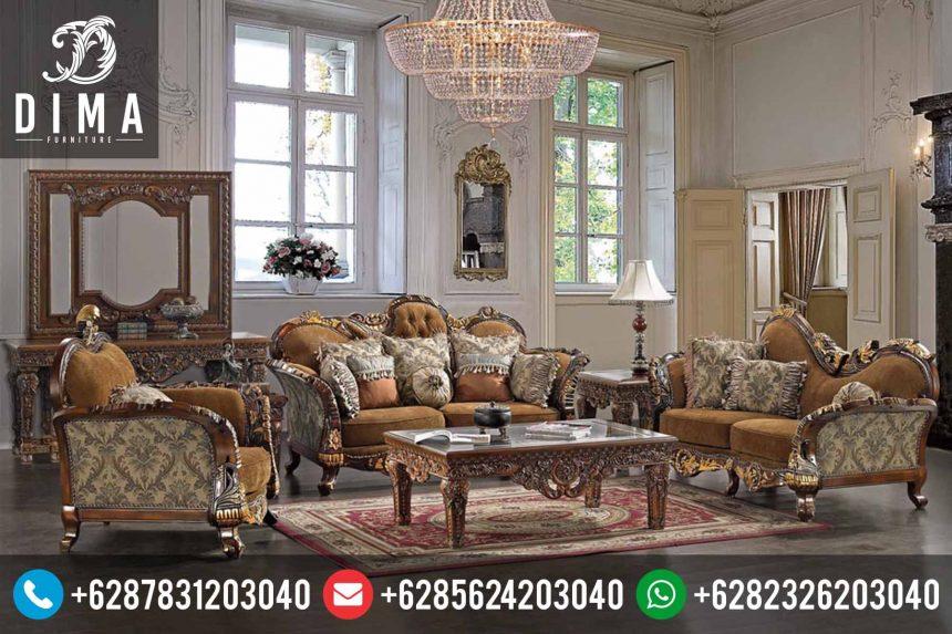 Kursi Tamu Jepara Mewah Farerro Victorian Style Klasik Terbaru ST-0166