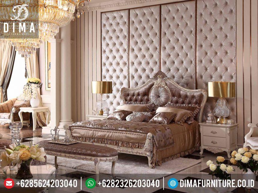 Kamar Set Mewah Klasik Murah, Set Dipan Tempat Tidur Mewah Jepara, Set Kamar Tidur Mewah Ukiran Terbaru ST-0217