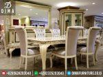 Meja Makan Classic Mewah Jepara Terbaru ST-0233
