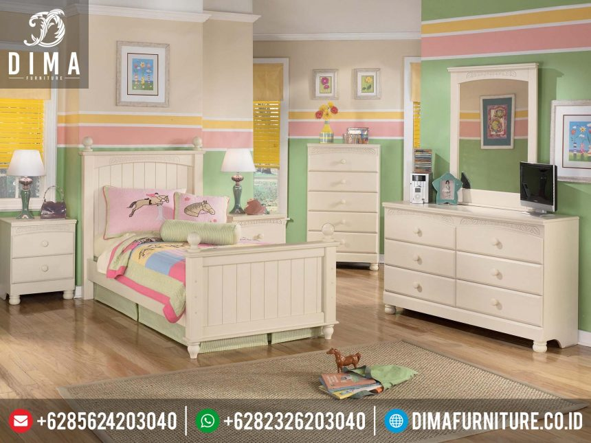 Set Dipan Anak Minimalis Murah, Set Kamar Tidur Anak Minimalis Jepara, Tempat Tidur Anak Minimalis Terbaru ST-0221