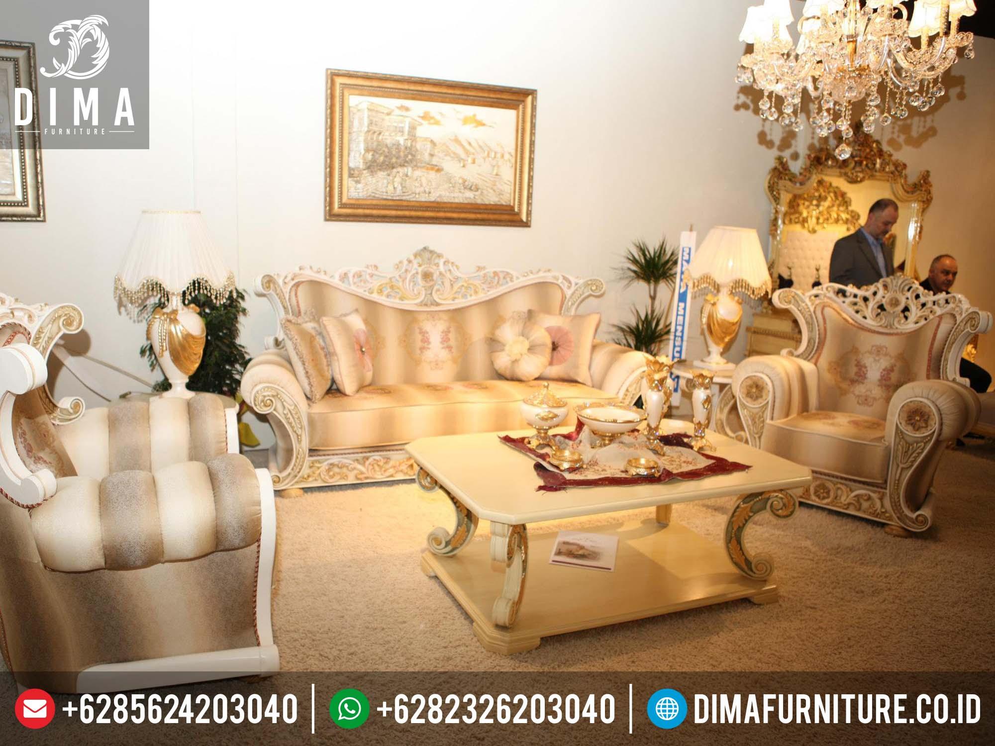 Set kursi sofa tamu klasik ukir mewah model terbaru harga for Sofa klasik