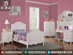 Tempat Tidur Anak Minimalis Jepara, Set Kamar Anak Minimalis Murah, Kamar Tidur Anak Perempuan Terbaru ST-0219