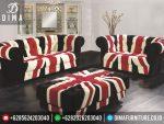 ST-0254 Set Kursi Sofa Tamu Minimalis Modern Mewah Vintage Terbaru