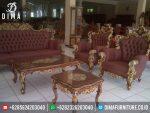 ST-0260 Set Kursi Tamu Jati TPK Ganesa Royal Jumbo Jepara Terbaru