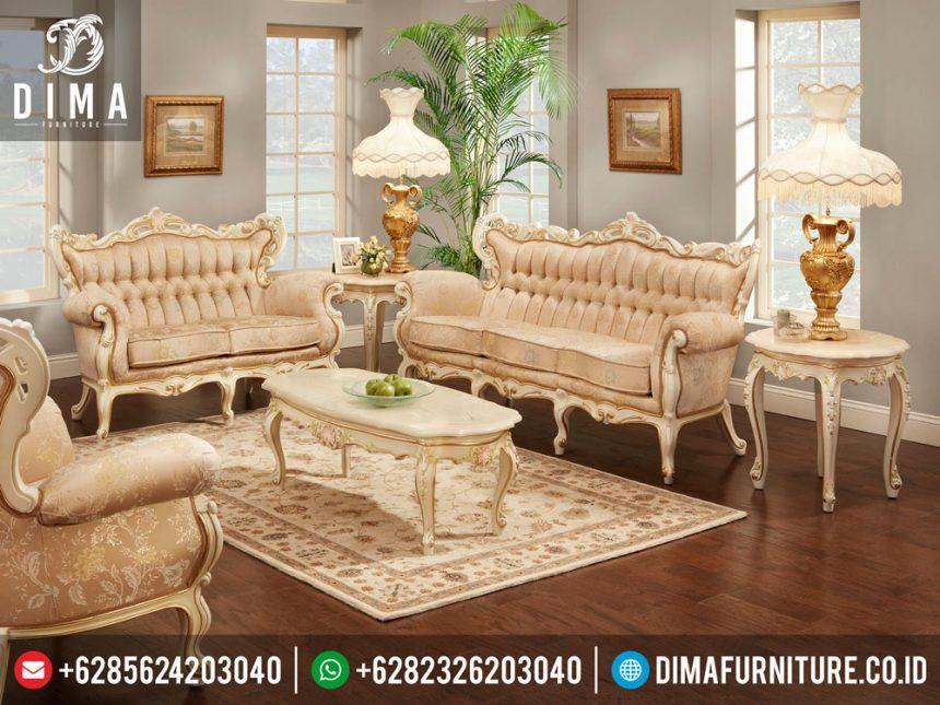 ST-0261 Mebel Jepara Terbaru Set Kursi Tamu Mewah Luxury Living Room