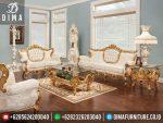 ST-0263 Mebel Mewah Jepara Set Kursi Tamu European Living Room