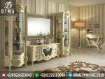 ST-0270 Set Bufet TV Mewah Klasik Jepara Terbaru