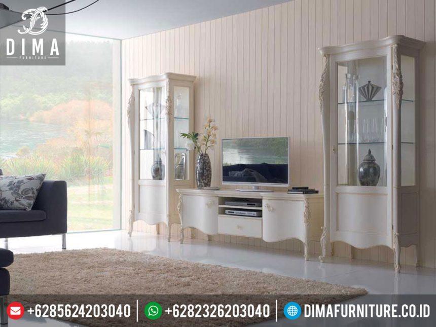 ST-0273 Bufet TV Minimalis Mewah Duco Jepara Terbaru