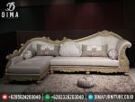 Set Kursi Tamu Minimalis Sudut L Ukiran Mewah ST-0295