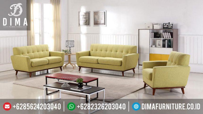 Set Sofa Ruang Tamu Minimalis Modern Mewah Dima ST-0318