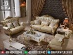 Furniture Jepara Set Sofa Tamu Mewah Minimalis Gold ST-0305