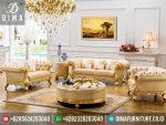 ST-0300 Set Sofa Kursi Tamu Mewah Dugel Minimalis Terbaru