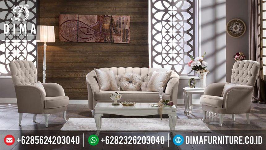 Set Sofa Ruang Tamu Mewah Minimalis Gokhan Mobilya Terbaru ST-0311
