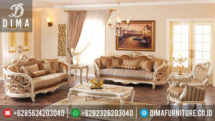 Set Sofa Ruang Tamu Mewah Mobilya Koltuk Terbaru ST-0310