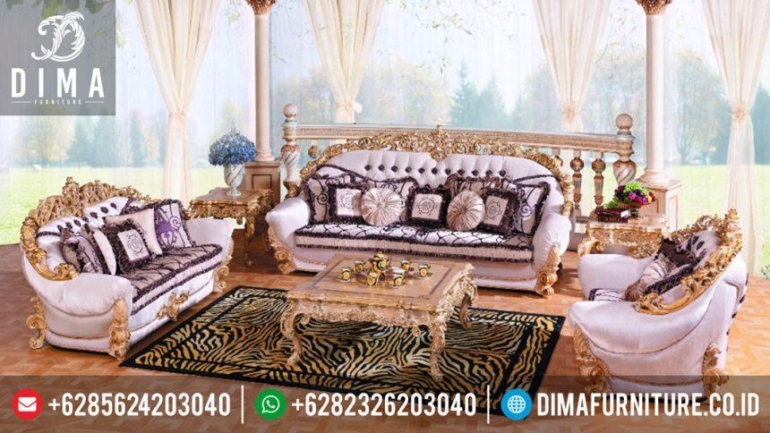 Sofa Kursi Ruang Tamu Mewah Klasik Brunelo Terbaru Jepara ST-0316