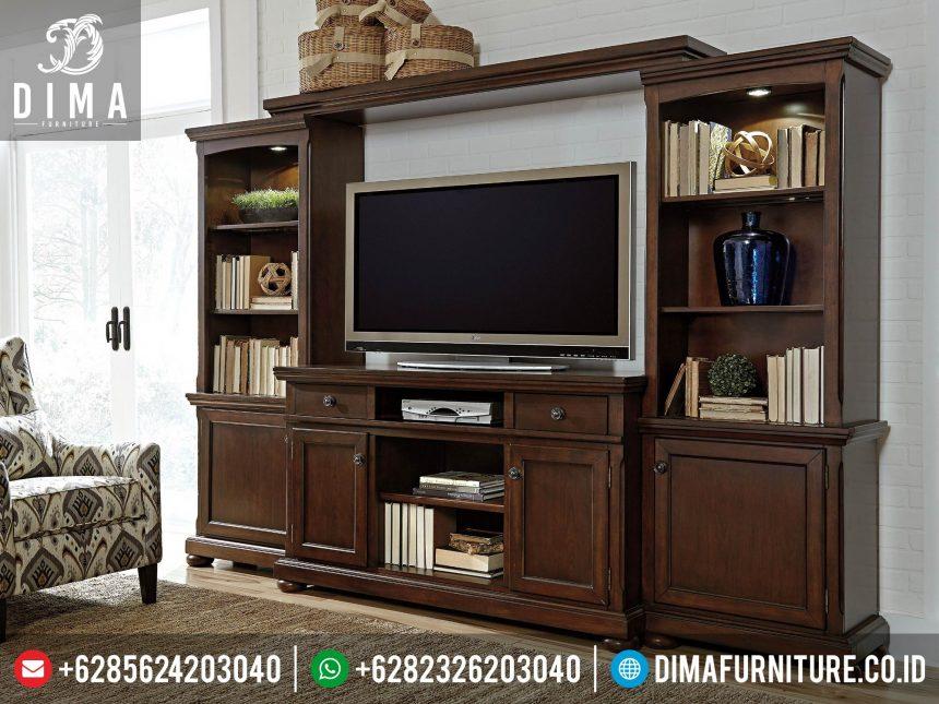 Set Bufet TV Minimalis Jepara, Lemari TV Klasik, Buffet TV Mewah Terbaru ST-0323