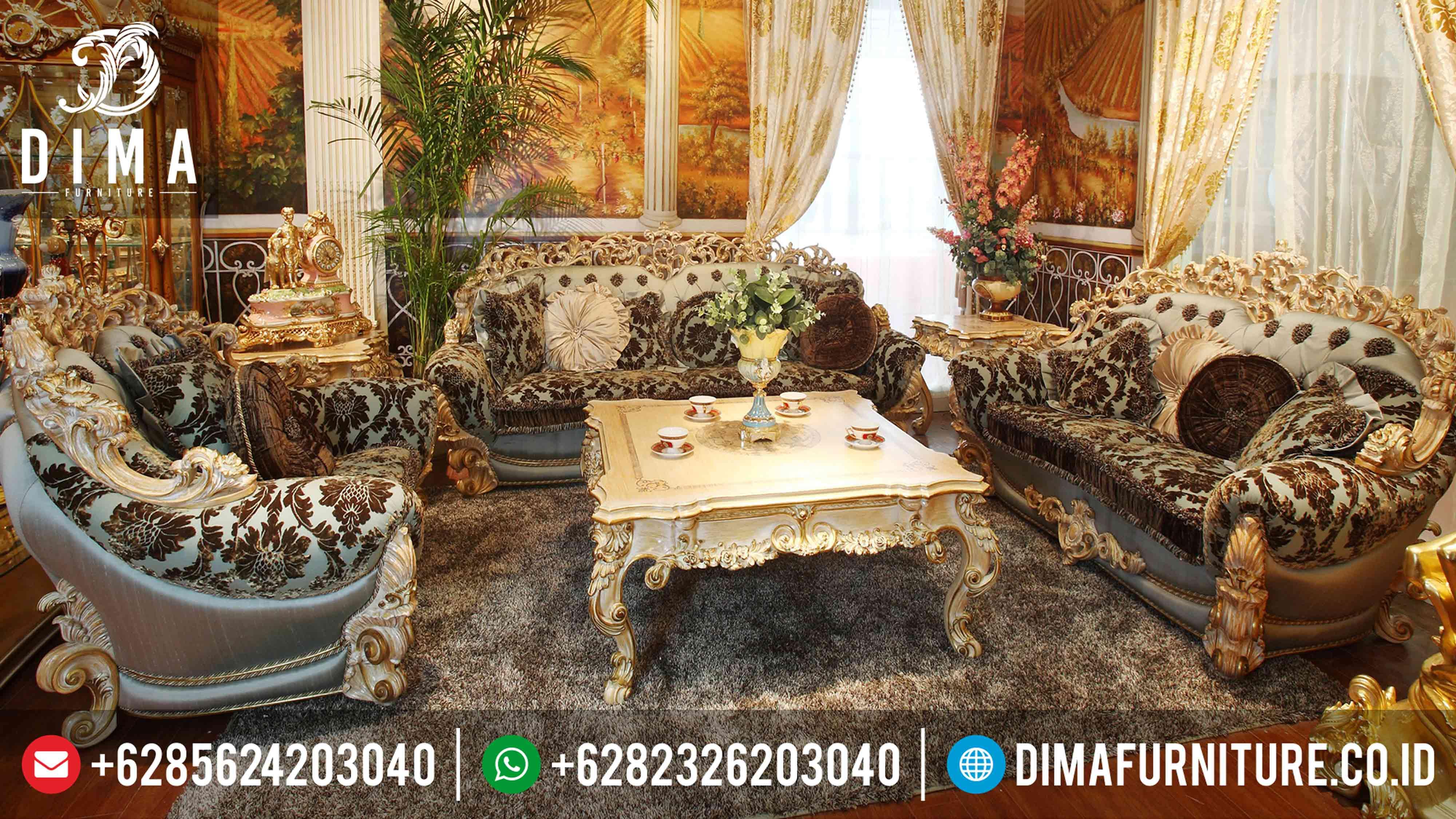 Set Sofa Tamu Mewah Brunello Terbaru Jepara ST-0344