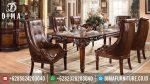 Mebel Terbaru Jepara Set Meja Makan Mewah Klasik Eropa ST-0350