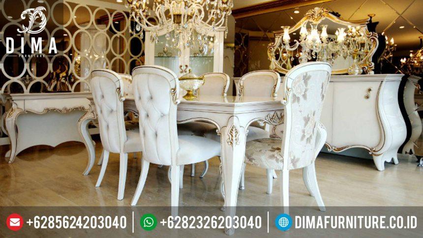 Meja Makan Set Mewah Minimalis Terbaru Safran Yemek Odasi ST-0346