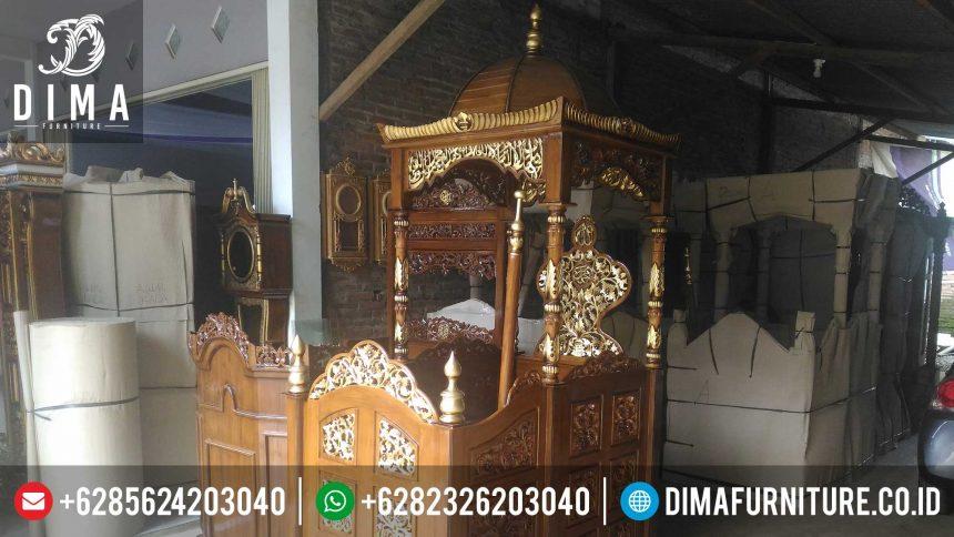 Mimbar Jati, Mimbar Masjid Jepara, Mimbar Ceramah Masjid Jati ST-0361