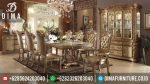 Set Meja Makan Mewah Terbaru Acme Vendome Ukiran Mebel Jepara ST-0351