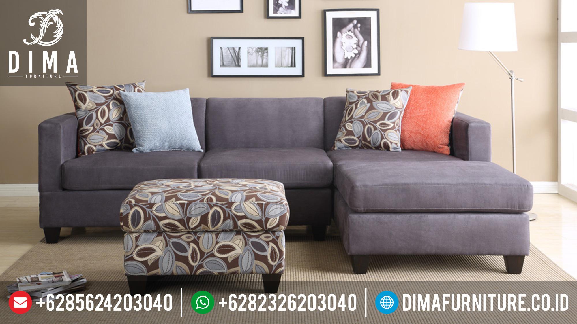 Sofa Sudut L Minimalis Modern, Sofa Tamu Minimalis Terbaru, Kursi Sudut Minimalis ST-0381